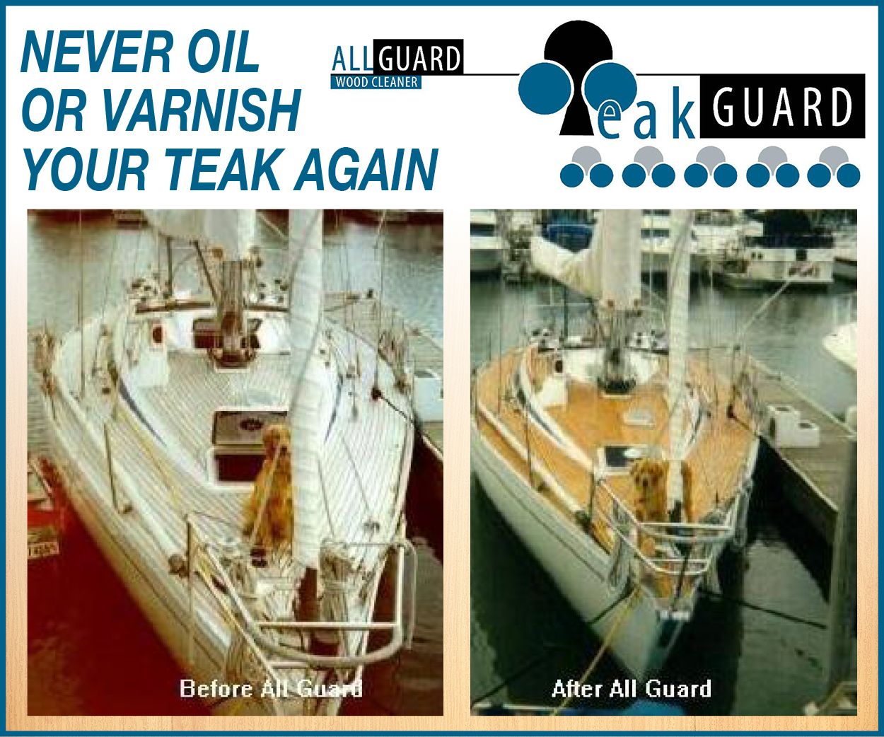 All Guard Teak Products