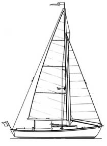 29-foot sloop drawing