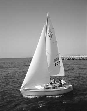 Catalina 22, first boat in 1970