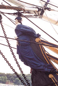Bounty figurehead replica