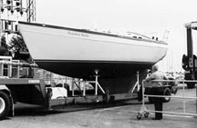 Steel Hull painted