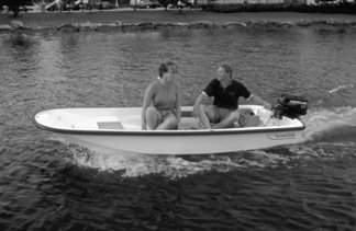 Boston Whaler dinghy