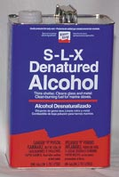 Denatured alcohol can