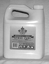 Stove fuel container