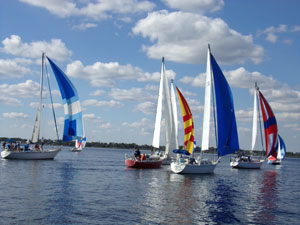 Saint Lucie Sailing Club regatta